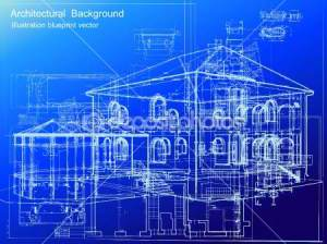 dep_3577496-Architectural-blueprint-background.-Vector