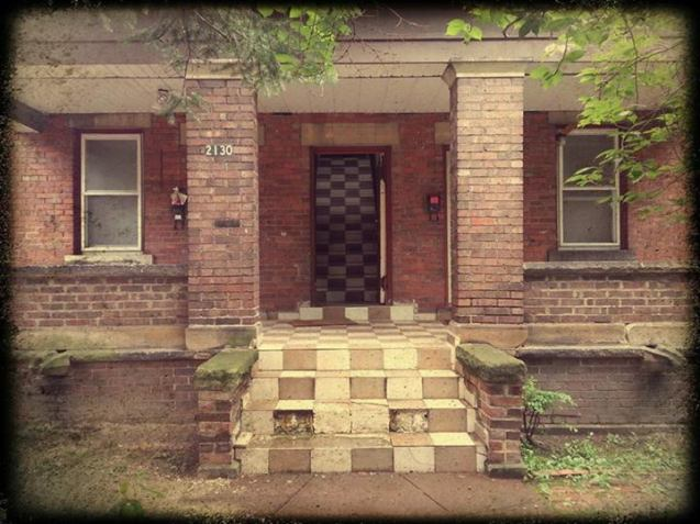 Random Road Housefront-Don Pavlish