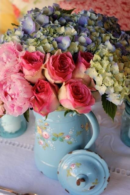 bouquet vintage in bloom