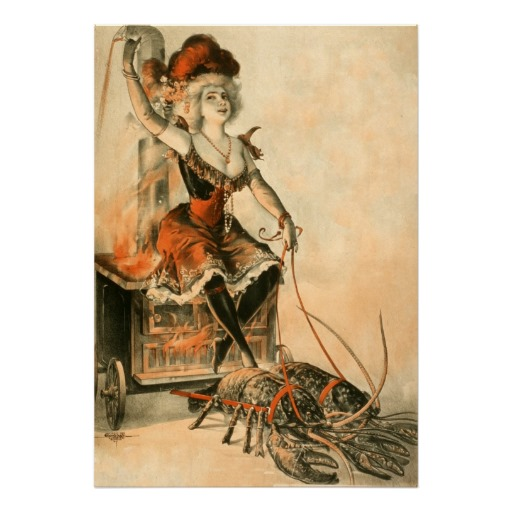 vintage_circus_poster_lobster_woman-raad269d75faa4774ab86ecc85bbb6a3c_aid7z_8byvr_512