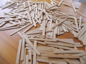 popsicle stick mess