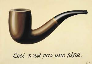 MAGRITTE THIS IS NOT A PIPE 1928-29