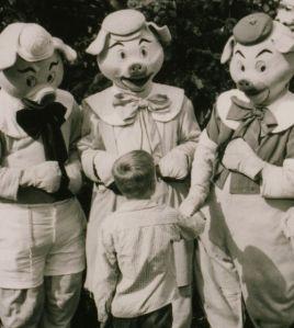 3LittlePigs1955Disneyland